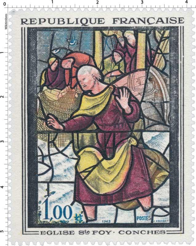 1963 ÉGLISE Ste FOY - CONCHES