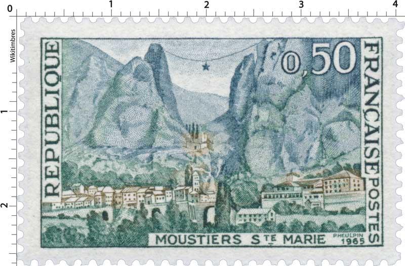1965 MOUSTIERS STE MARIE