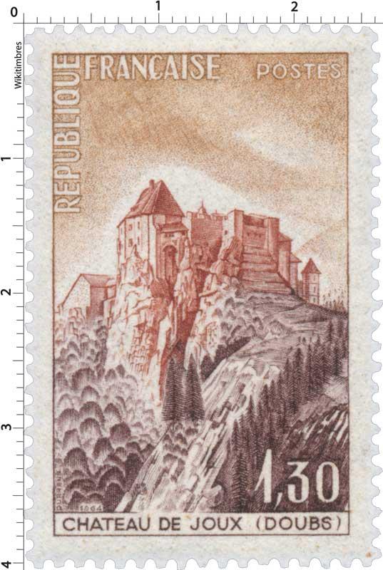 1964 CHÂTEAU DE JOUX (DOUBS)