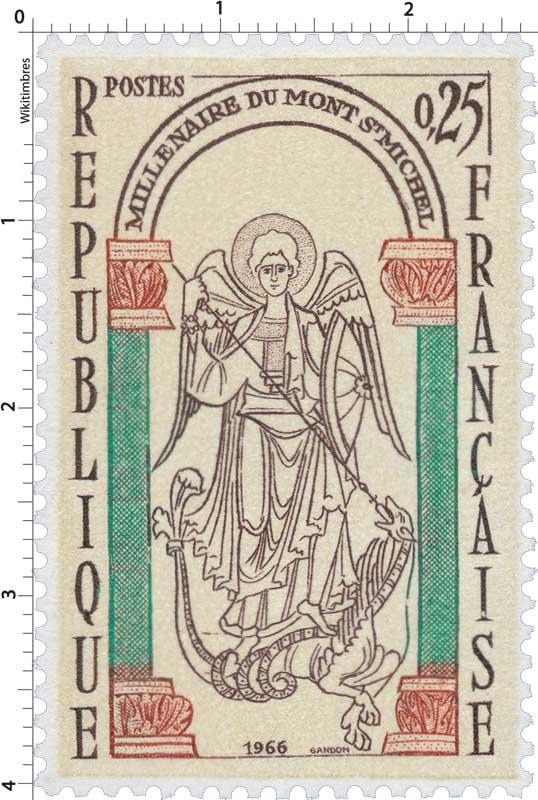 1966 MILLÉNAIRE DU MONT ST MICHEL
