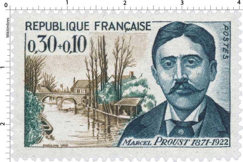 1966 MARCEL PROUST 1871-1922