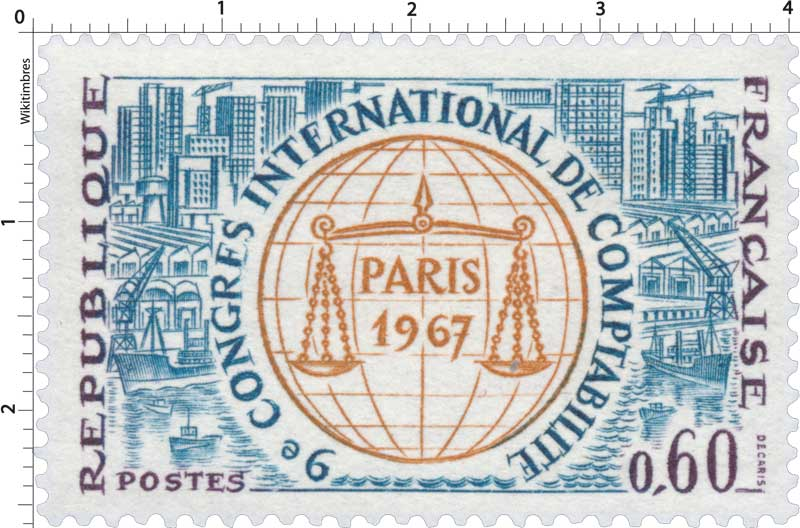 9e CONGRÈS INTERNATIONAL DE COMPTABILITÉ PARIS 1967