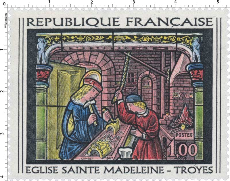 1967 ÉGLISE SAINTE MADELEINE -TROYES