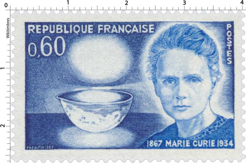 1967 MARIE CURIE 1867-1934