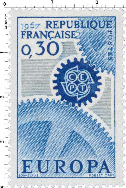 1967 EUROPA CEPT