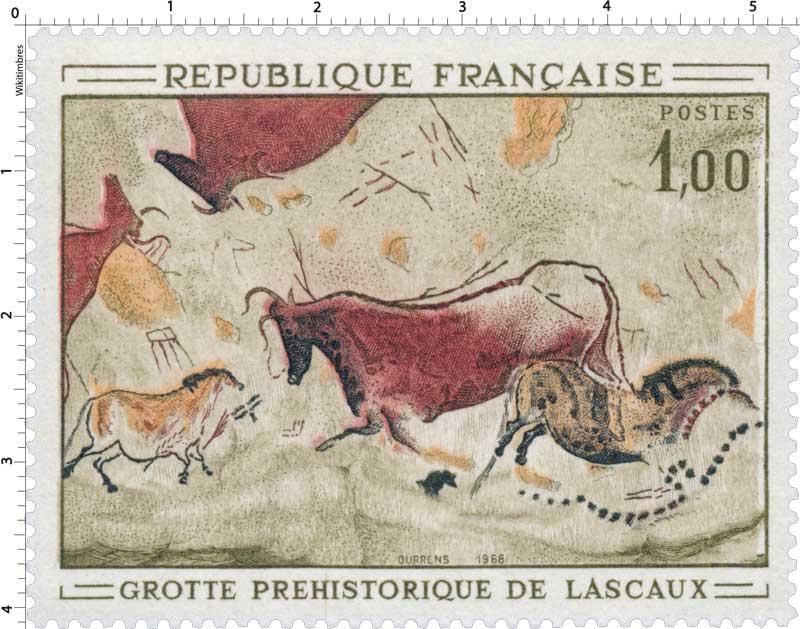 1968 GROTTE PRÉHISTORIQUE DE LASCAUX