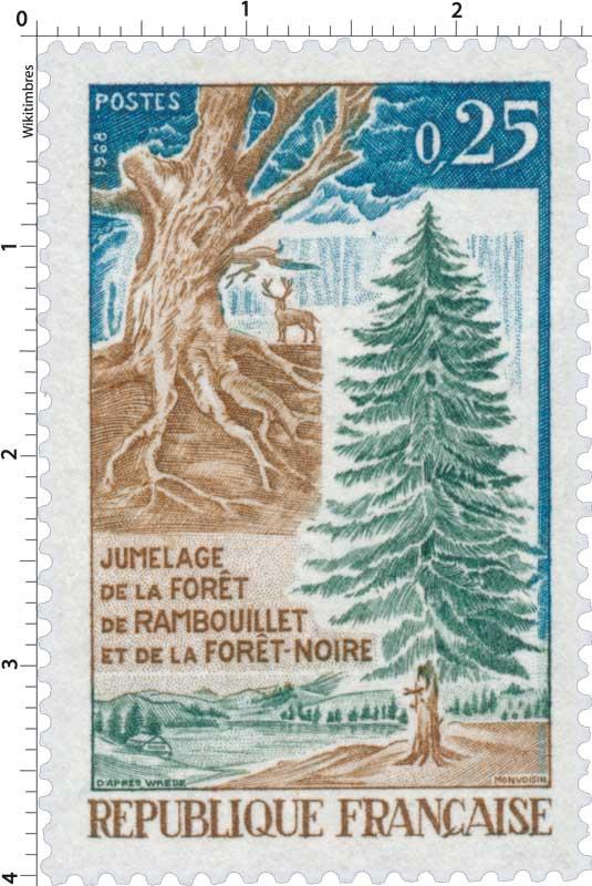 1968 JUMELAGE DE LA FORÊT DE RAMBOUILLET ET DE LA FORÊT-NOIRE