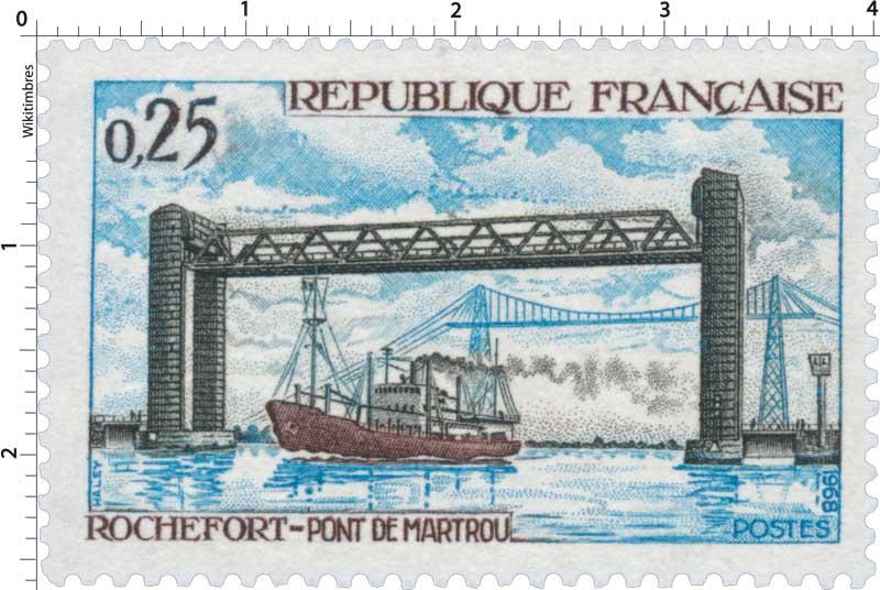 1968 ROCHEFORT - PONT DE MARTROU