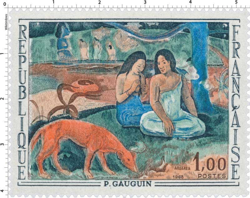 1968 AREAREA P. GAUGUIN