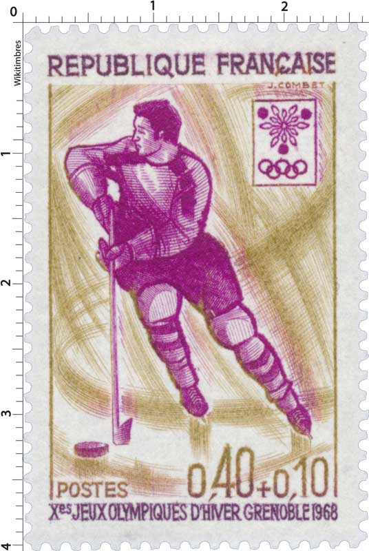 Xes JEUX OLYMPIQUES D'HIVER GRENOBLE 1968