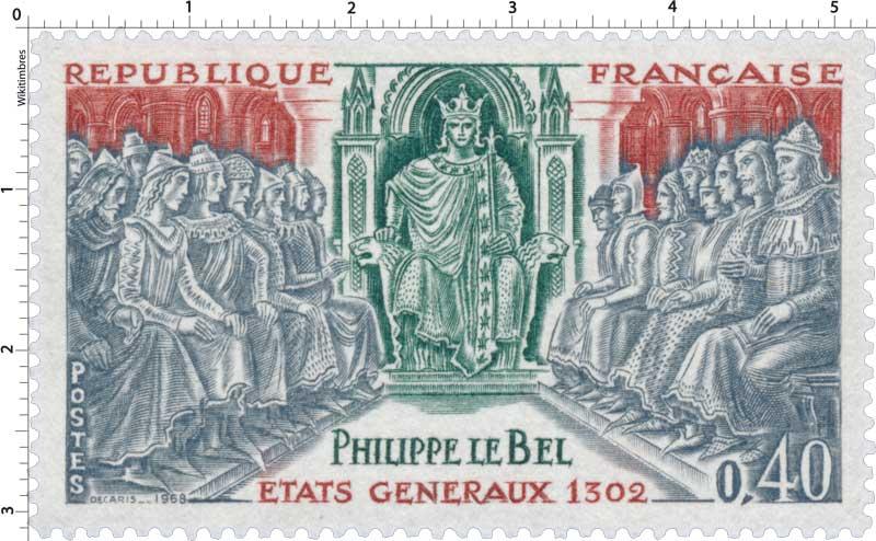 1968 PHILIPPE LE BEL ÉTAT GÉNÉRAUX 1302