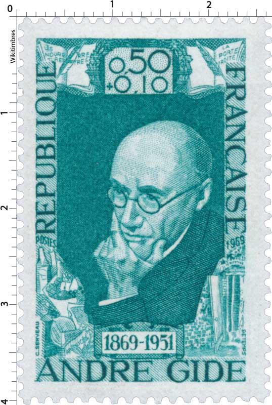1969 ANDRÉ GIDE 1869-1951