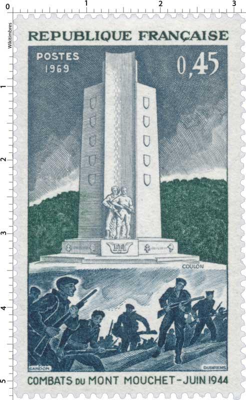 1969 COMBATS DU MONT MOUCHET-JUIN 1944