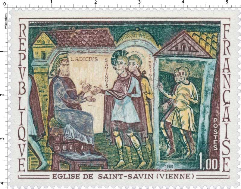 1969 ÉGLISE DE SAINT-SAVIN (VIENNE)