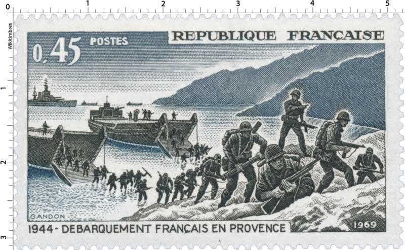 1969 DÉBARQUEMENT FRANÇAIS EN PROVENCE