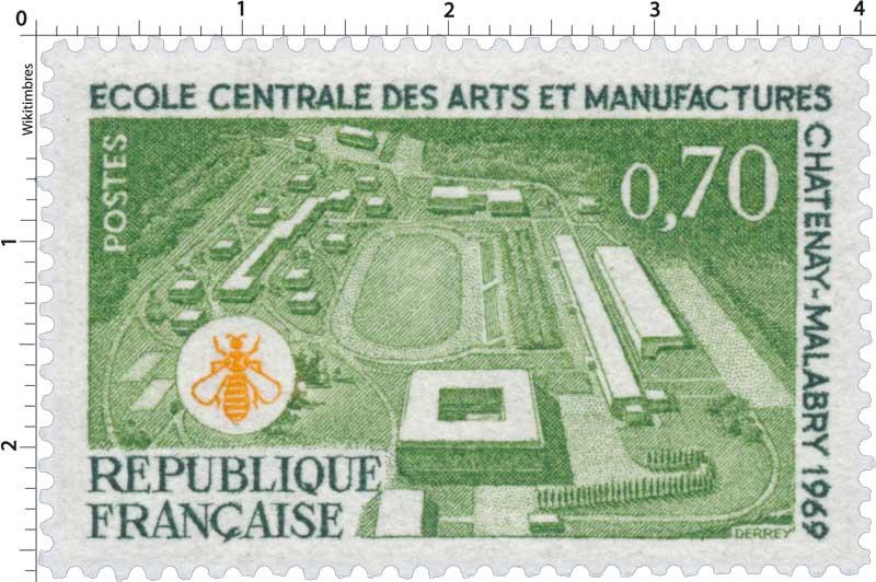 ÉCOLE CENTRALE DES ARTS ET MANUFACTURES À CHÂTENAY-MALABRY 1969