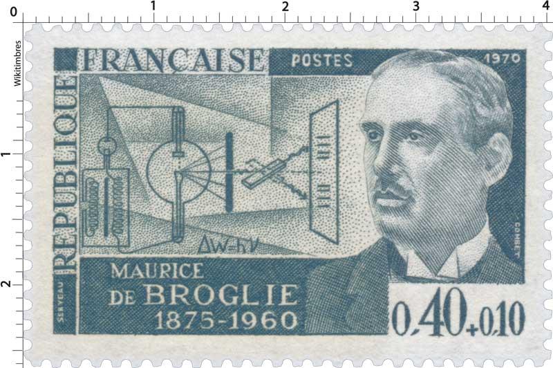 1970 MAURICE DE BROGLIE 1875-1960
