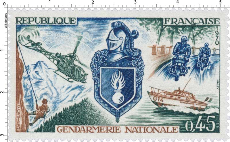 1970 GENDARMERIE NATIONALE
