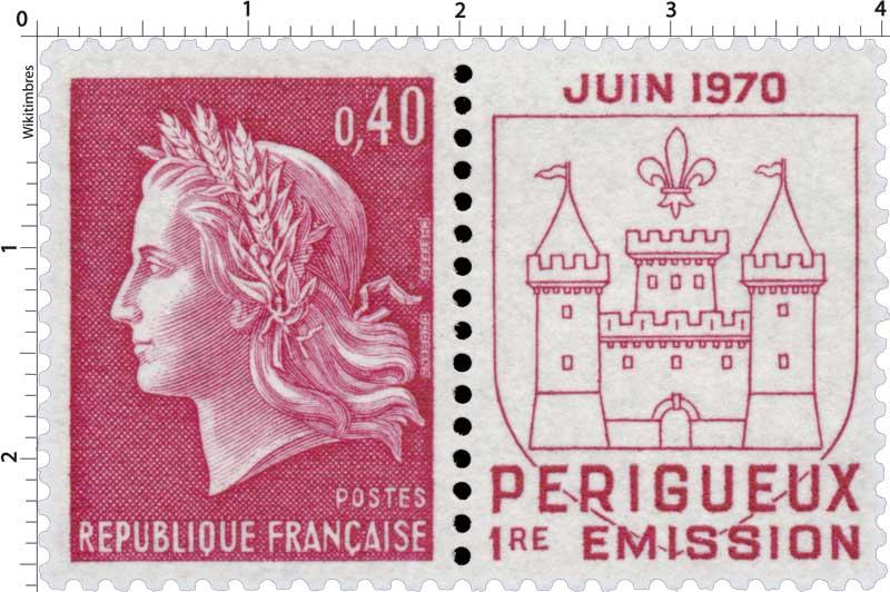 JUIN 1970 PÉRIGUEUX 1RE ÉMISSION