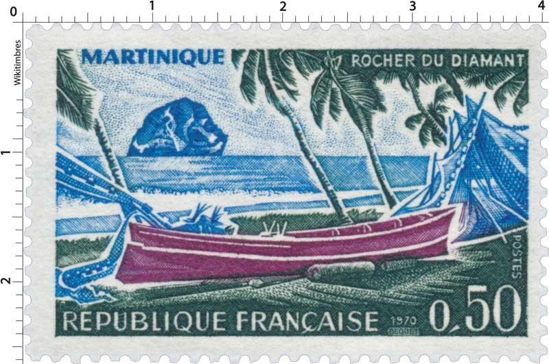 1970 MARTINIQUE ROCHER DU DIAMANT
