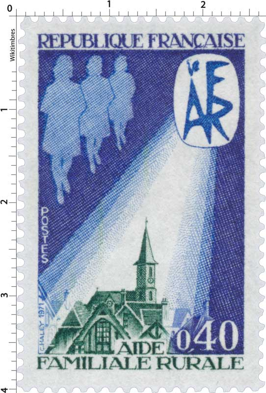 1971 AIDE FAMILIALE RURALE AFR