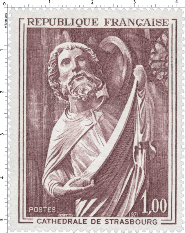 1971 CATHÉDRALE DE STRASBOURG