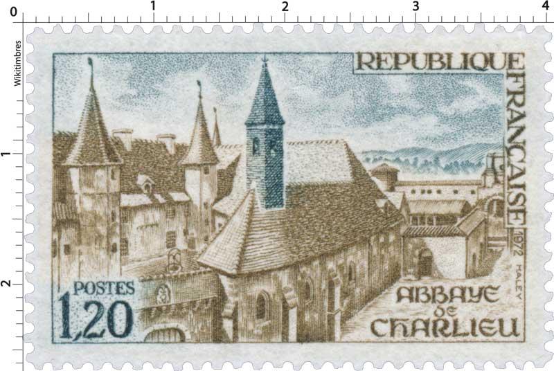 1972 ABBAYE DE CHARLIEU