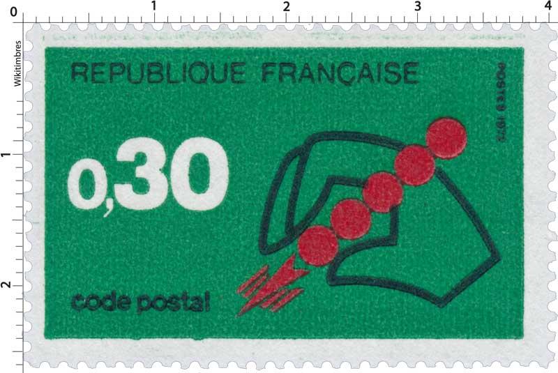 1972 CODE POSTAL