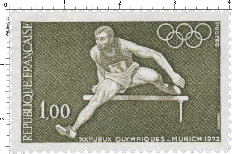 XXES JEUX OLYMPIQUES - MUNICH 1972