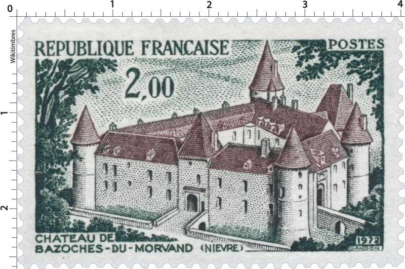 1972 CHÂTEAU DE BAZOCHES-DU-MORVAND (NIÈVRE)