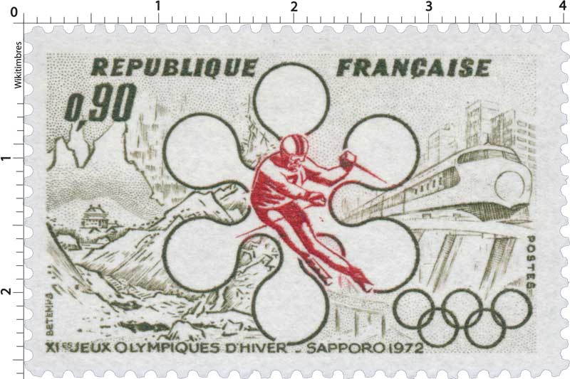 XIe JEUX OLYMPIQUES D'HIVER - SAPPORO 1972