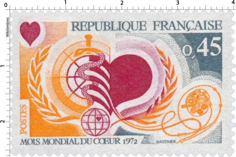 MOIS MONDIAL DU CŒUR 1972