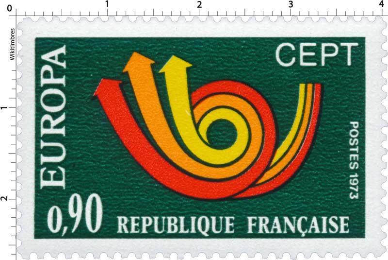 1973 EUROPA CEPT