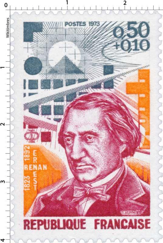 1973 ERNEST RENAN 1823-1892