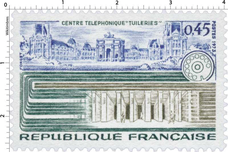 1973 CENTRE TÉLÉPHONIQUE TUILERIES