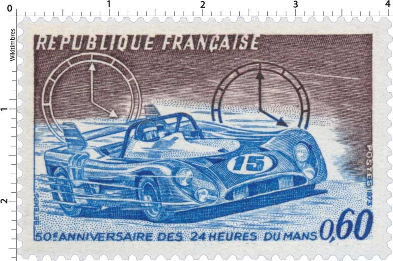 1973 50E ANNIVERSAIRE DES 24 HEURES DU MANS