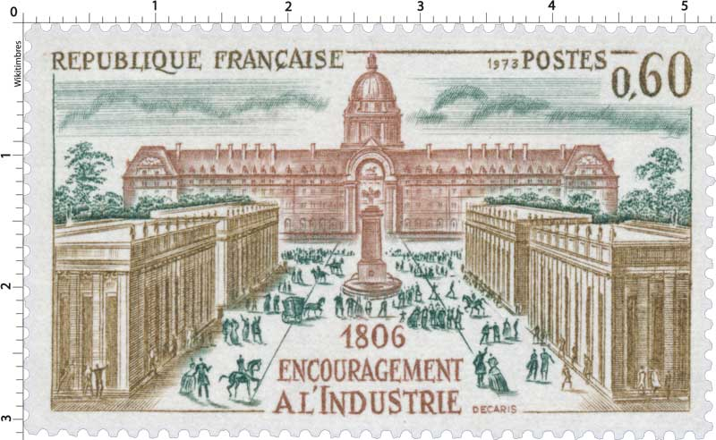 1973 ENCOURAGEMENT À L'INDUSTRIE 1806