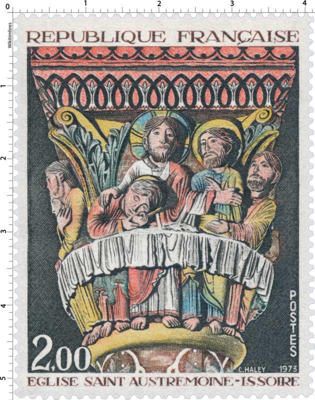 1973 ÉGLISE SAINT AUSTREMOINE-ISSOIRE