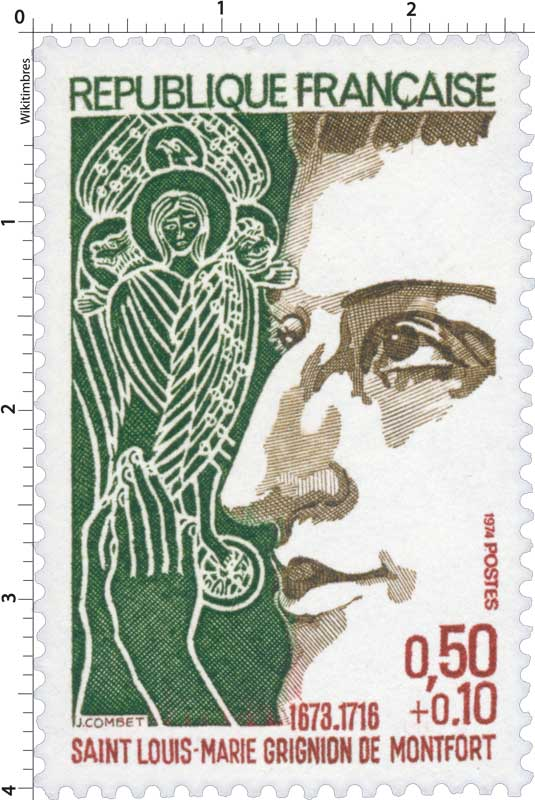 1974 SAINT LOUIS-MARIE GRIGNION DE MONTFORT 1673-1716