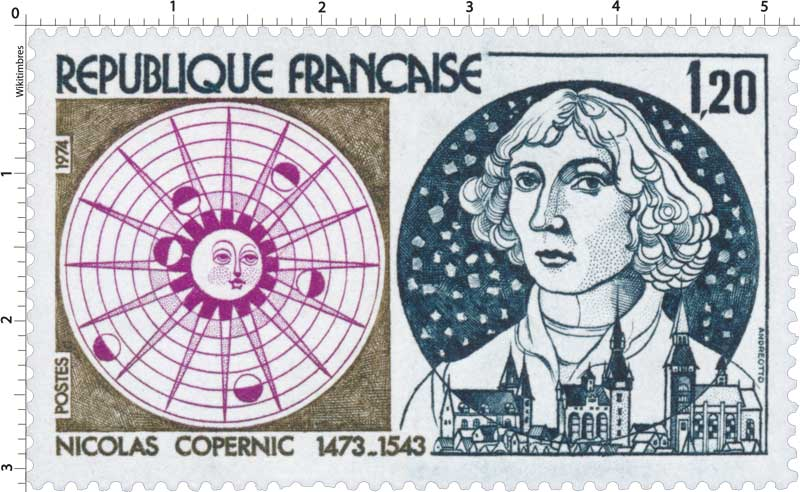 1974 NICOLAS COPERNIC 1473-1543