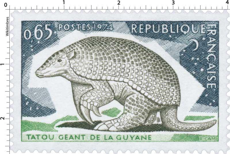 1974 TATOU GÉANT DE LA GUYANE