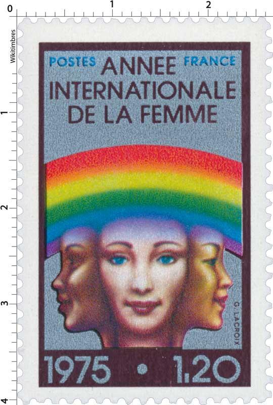 1975 ANNÉE INTERNATIONALE DE LA FEMME