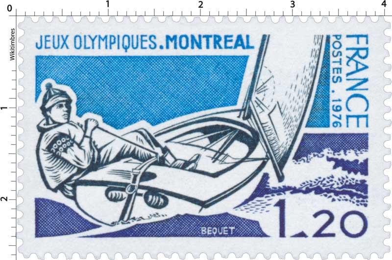 1976 JEUX OLYMPIQUES. MONTRÉAL