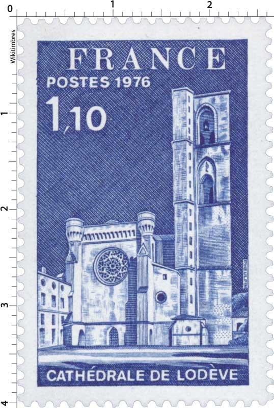 1976 CATHÉDRALE DE LODÈVE