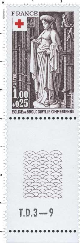 1976 ÉGLISE DE BROU: SIBYLLE CIMMÉRIENNE