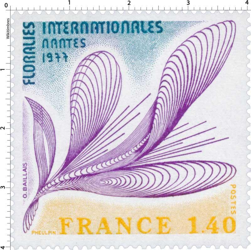 1977 FLORALIES INTERNATIONALES NANTES
