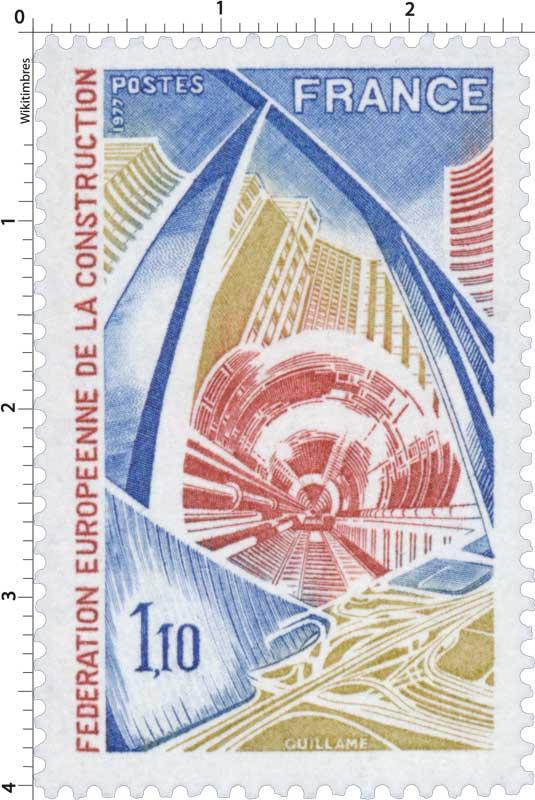 1977 FÉDÉRATION EUROPÉENNE DE LA CONSTRUCTION