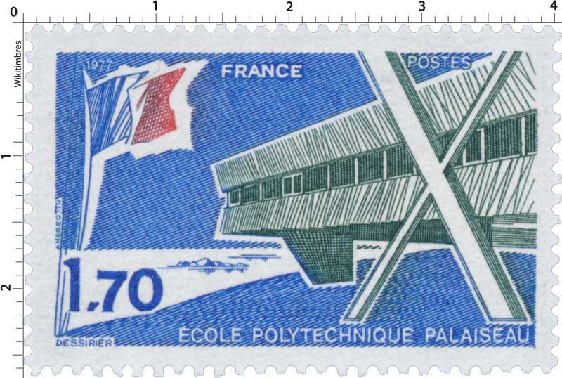 1977 ÉCOLE POLYTECHNIQUE PALAISEAU