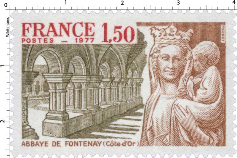 1977 ABBAYE DE FONTENAY (Côte-d'Or)