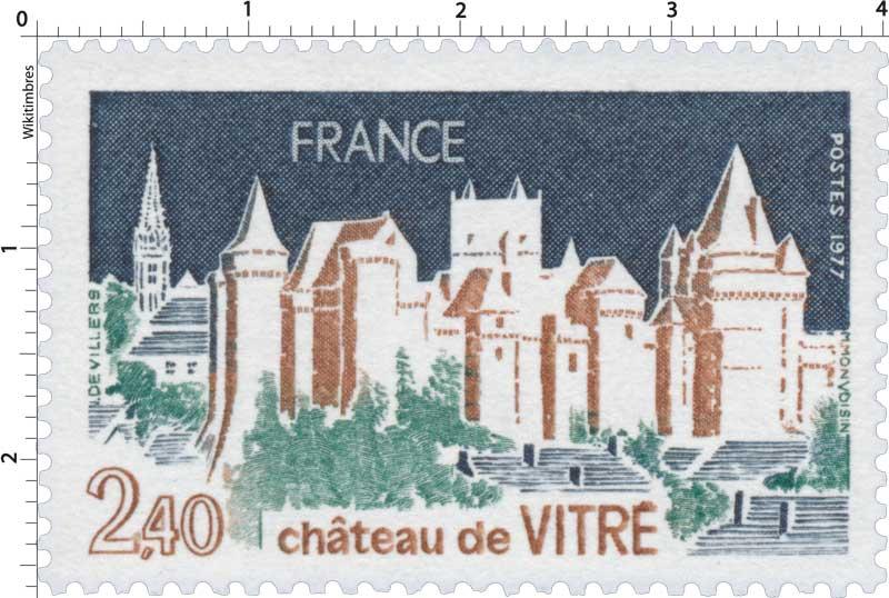 1977 château de VITRÉ